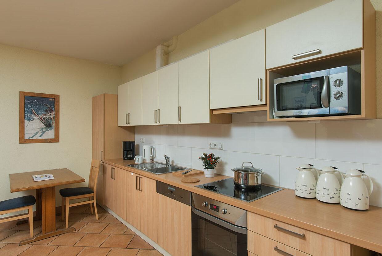 Aufenthalsraum-Küche